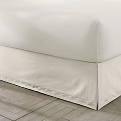 Sanctuary Solid Ivory Bedskirt