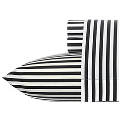 Stripe Black Sheet Set