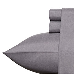 Patti Labelle Solid Storm Grey Sheet Set