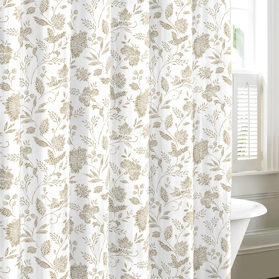 Tommy Bahama Sunkissed Sand Shower Curtain From