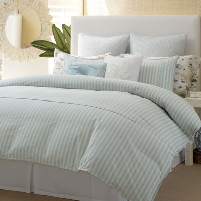 Tommy Bahama Surfside Stripe Comforter and Duvet Sets