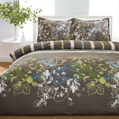 Perry Ellis Sweet Bay Comforter and Duvet Cover Sets