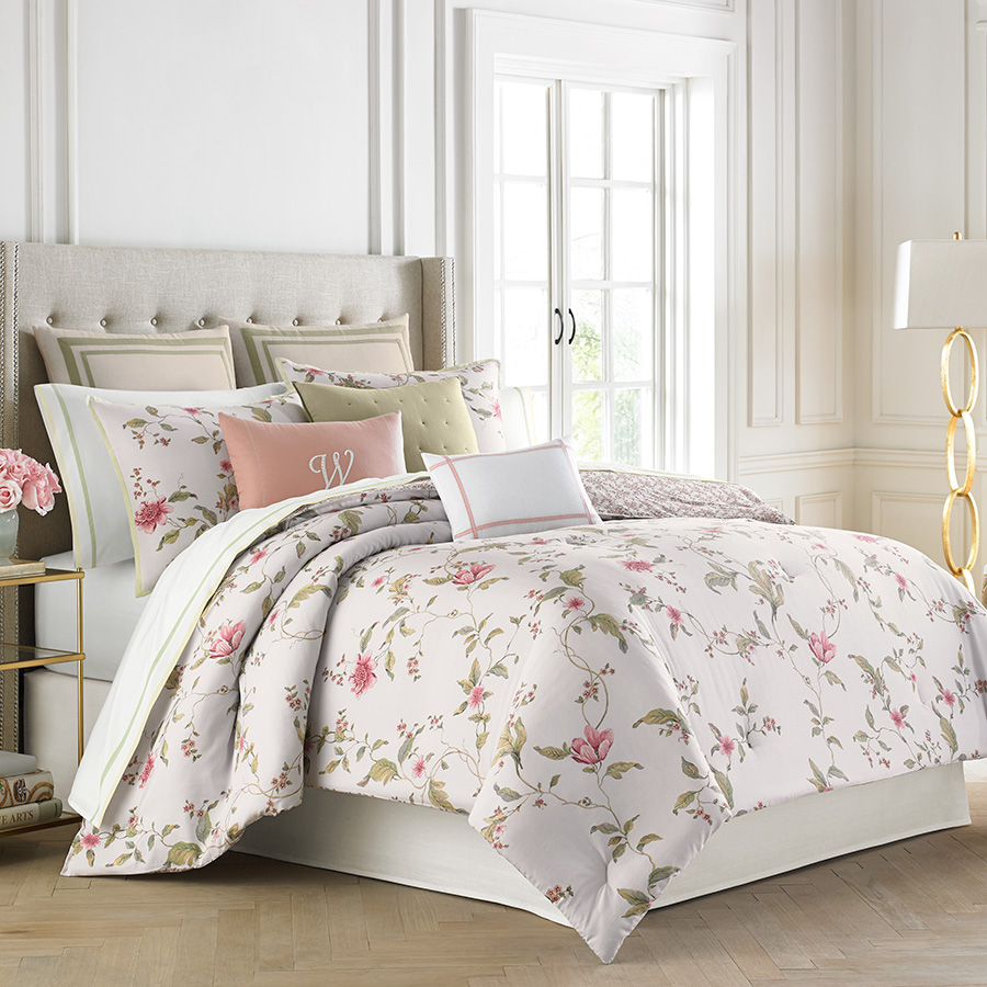 Wedgwood Sweet Plum Comforter Amp Duvet Set From