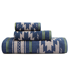 Eddie Bauer Tapestry Stripe Towel Set
