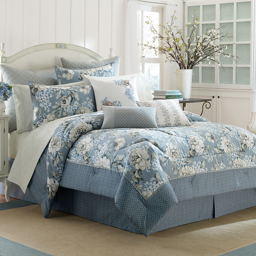 Laura Ashley Tapestry Rose Comforter Set From
