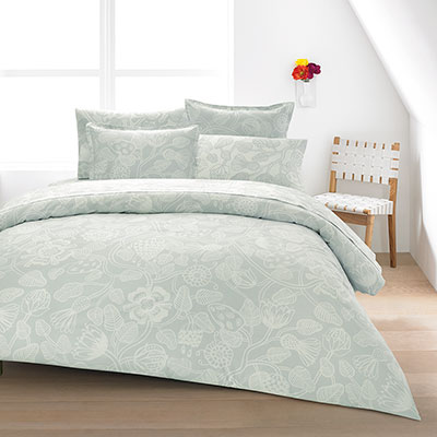Marimekko Tiara Gray Duvet Set From Beddingstyle Com