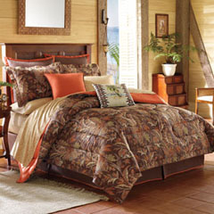 Tiki Bay Comforter Set