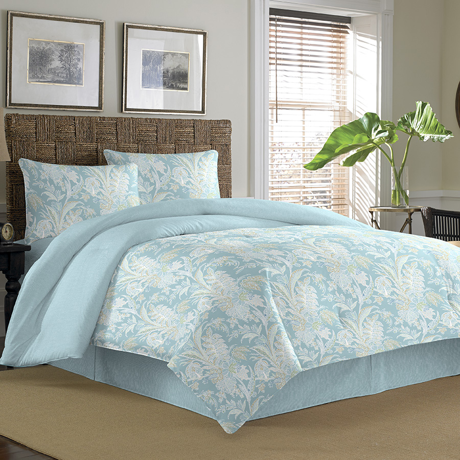 Tommy bahama tiki bay comforter set from for Pictures of comforters