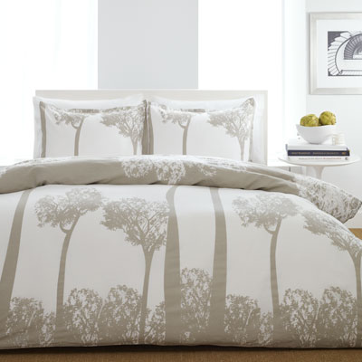 City Scene Tree Top Comforter and Duvet Cover Sets
