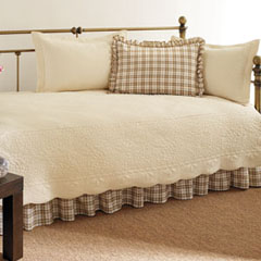 Trellis Daybed Ivory