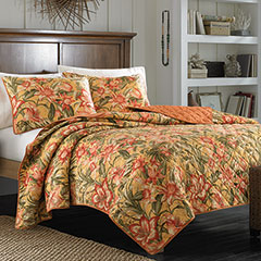 Tommy Bahama Tropical Lily Quilt