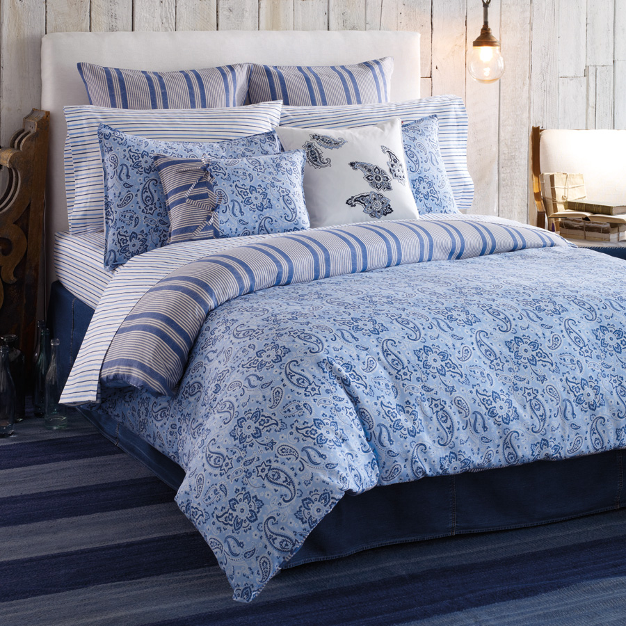 Light blue and white bedding viewing gallery - Blue and yellow bedding sets ...