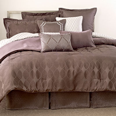 Candice Olson Twist Of Fate Comforter Set From