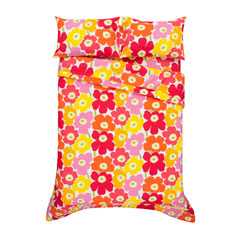 Pieni Unikko Pink Comforters and Duvet Covers