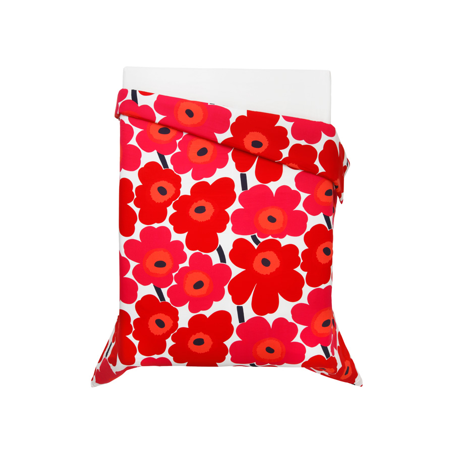King Sheet Set Marimekko Unikko Red