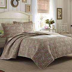 Laura Ashley Vanessa Quilt Set