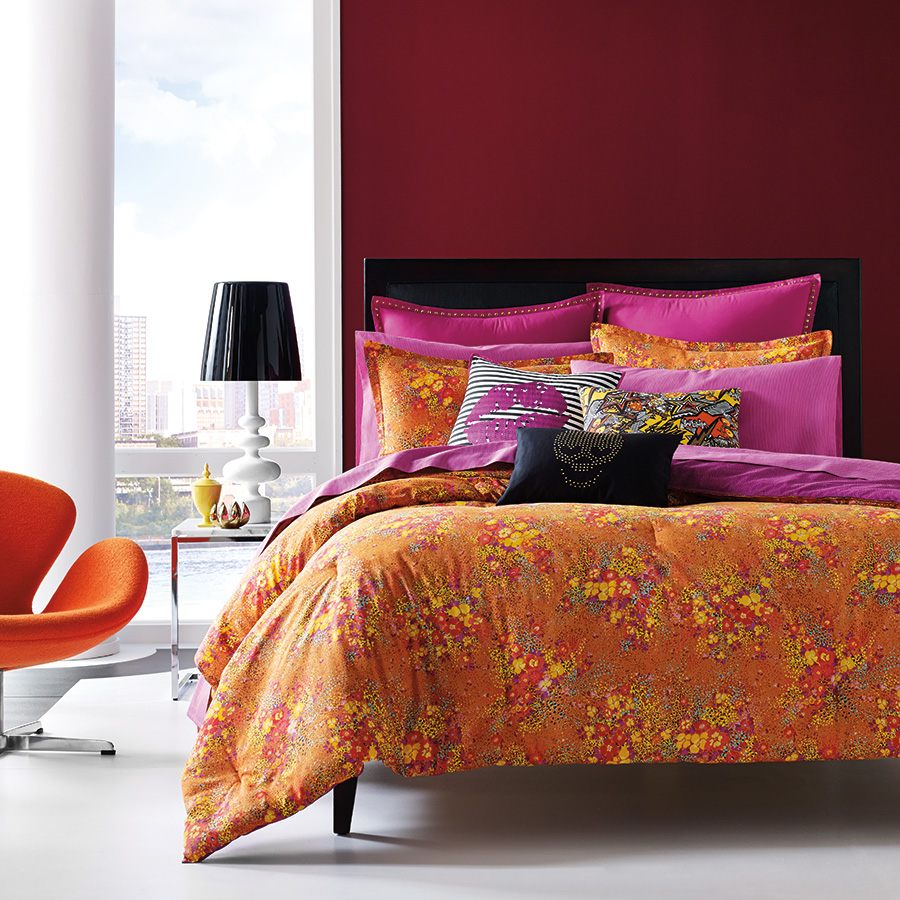Betsey Johnson Va Va Voom Comforter Set From