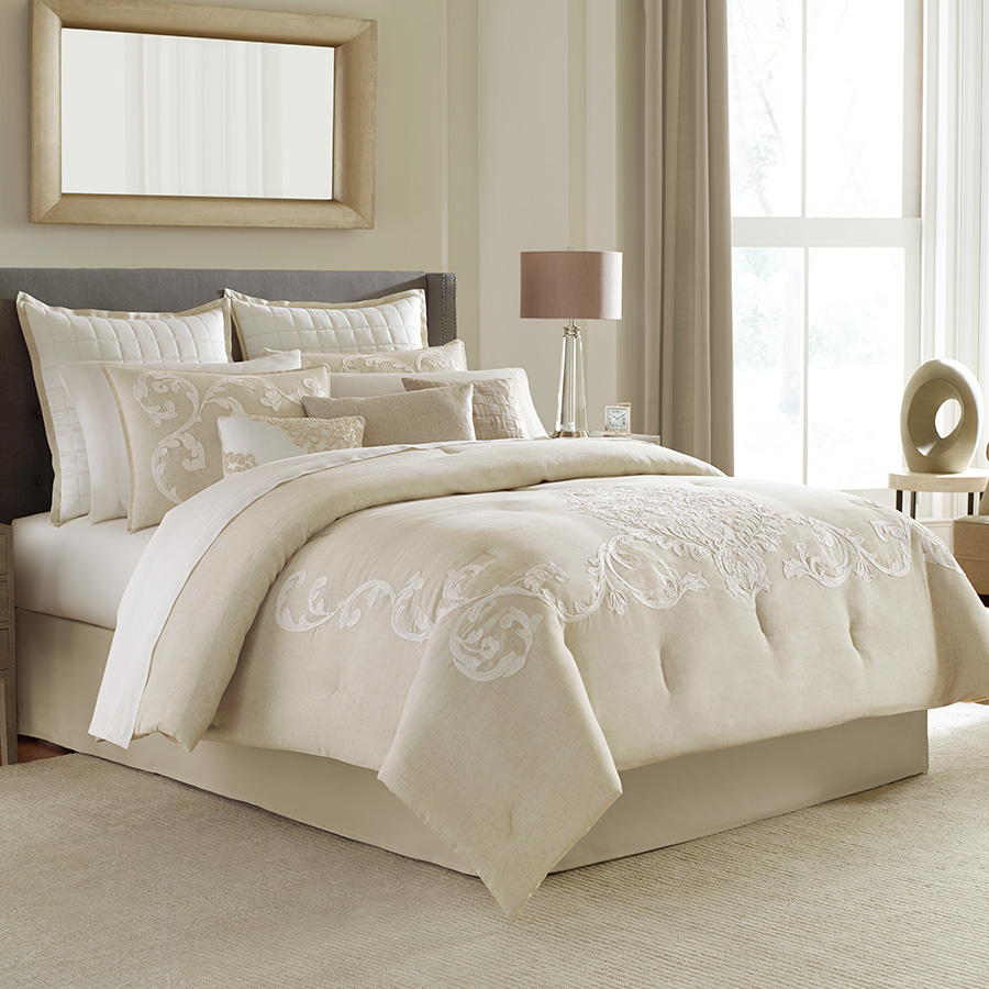 Manor hill verona complete bedding set from - Bedroom sheets and comforter sets ...