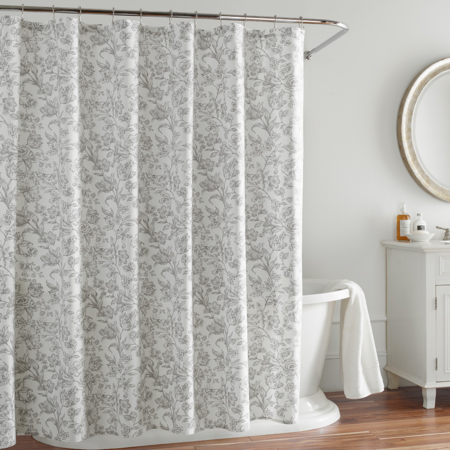Click here for Shower Curtain (Wegwood Vibrance Floral) prices