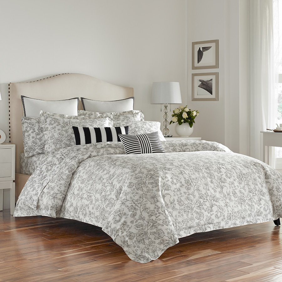 King Sheet Set Wedgwood Vibrance Pewter