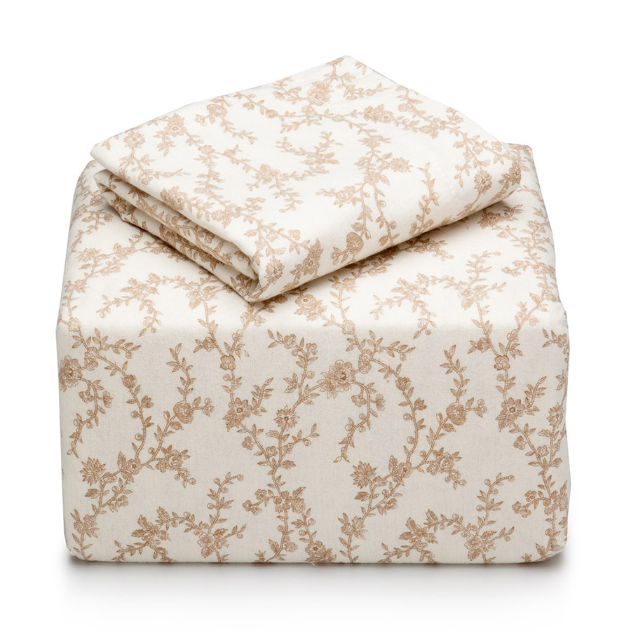Beddingstyle Laura Ashley Victoria Flannel Sheet