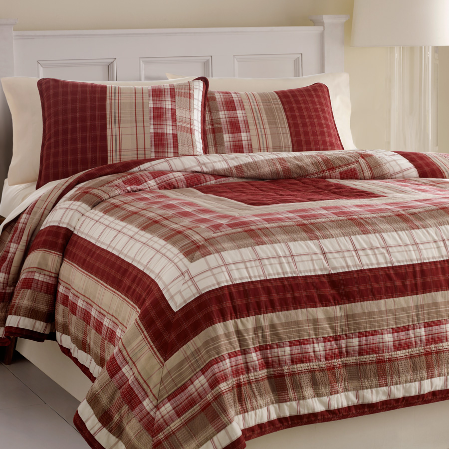 Nautica Walnut Creek King Quilt Nip Ebay