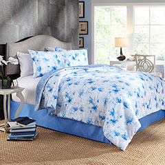 Water Flower Comforter & Duvet Cover Set
