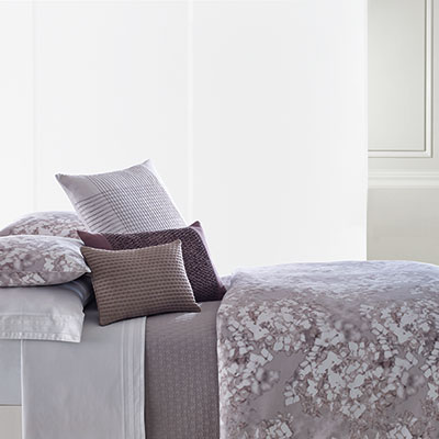 Vera Wang Water Flower Duvet Cover