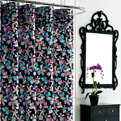 Watermark Shower Curtain