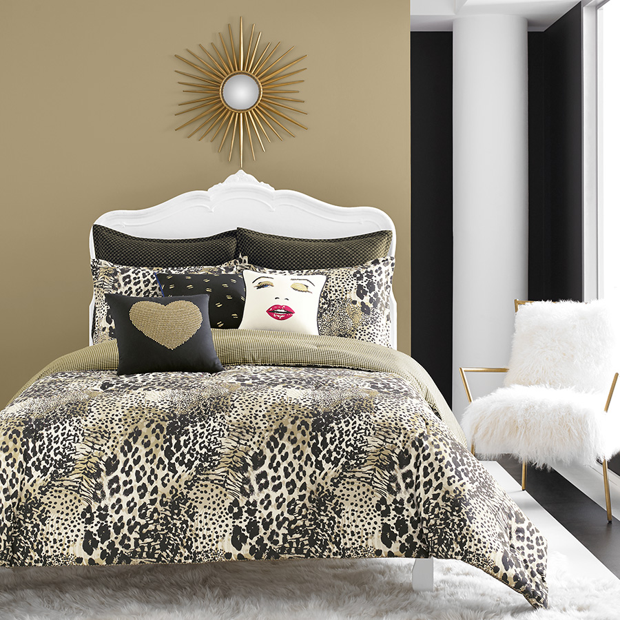 Betsey Johnson Wild Thing Comforter Set From Beddingstyle Com