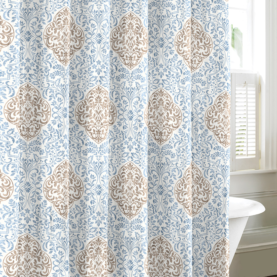 Laura Ashley Winchester Shower Curtain From Beddingstyle