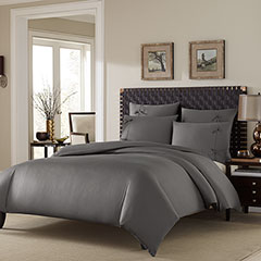Stone Cottage Winslet Graphite Duvet Set