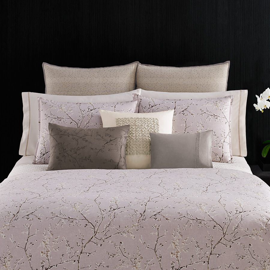 Decorative Pillow Vera Wang Winter Blossoms