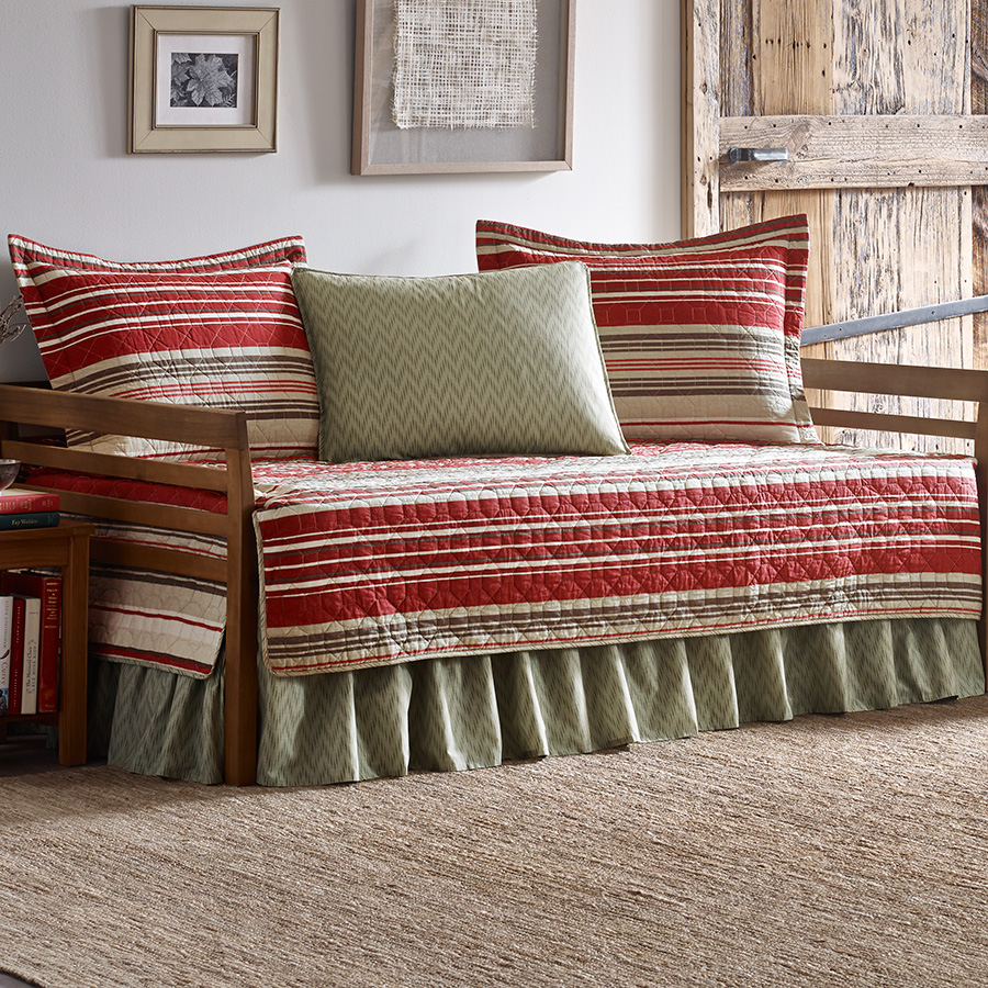 Daybed Eddie Bauer Yakima Valley Stripe Red