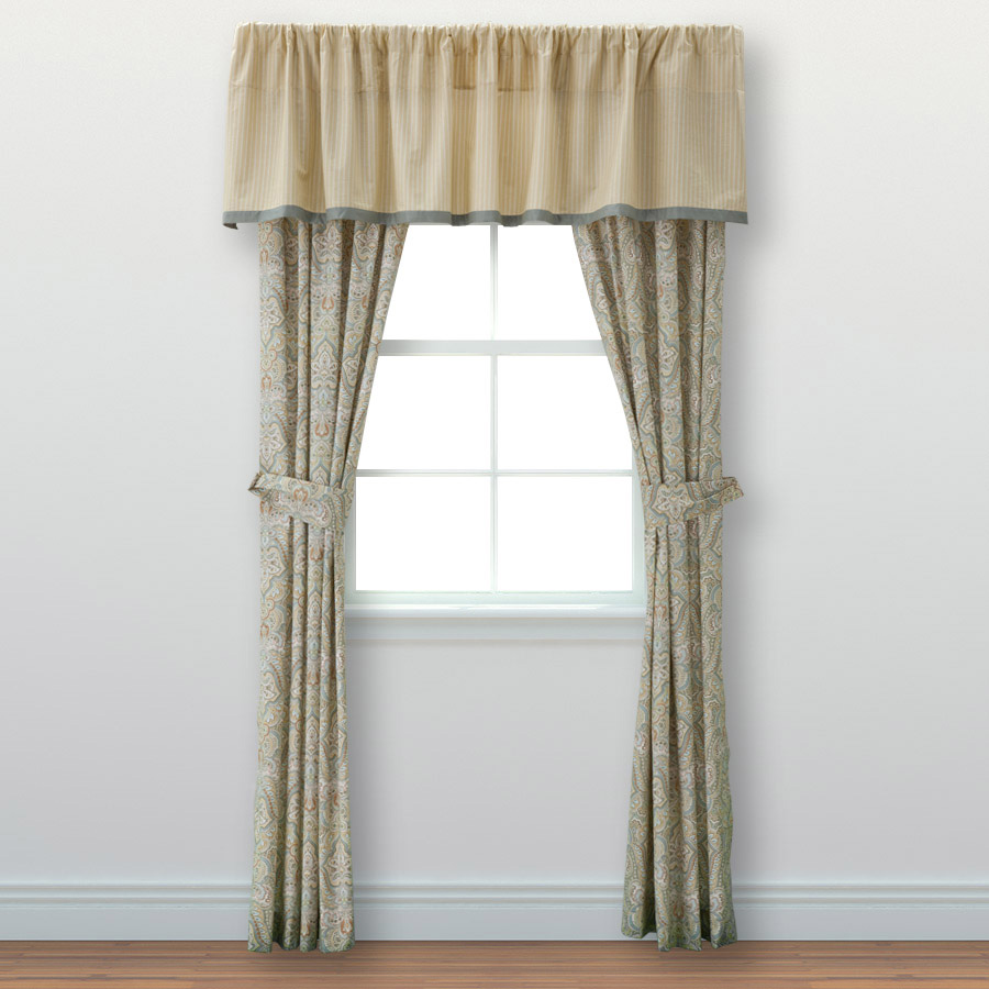 Pair of Drapes Laura Ashley Berkley