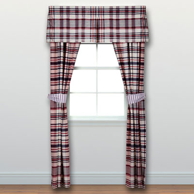 Tommy Hilfiger Vintage Plaid Window Treatment