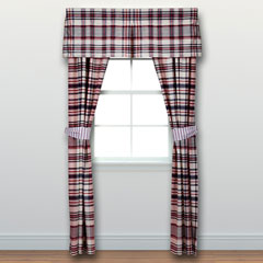 Vintage Plaid Window Treatment